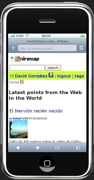 Portada Niremap Mobile
