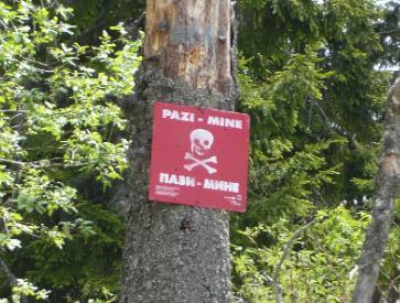 Pazi Mine - Cuidado minas