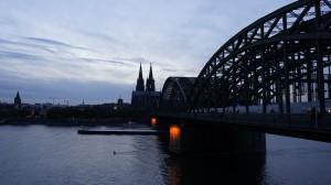 Rin, Hohenzollernbrücke y Dom