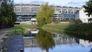 Croke Park, el templo del fútbol gaélico (deporte distinto que el fútbol)