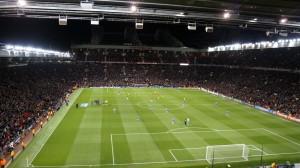 Old Trafford lleno para ver a la Real Sociedad